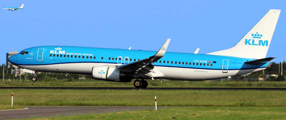 All KLM's registrations